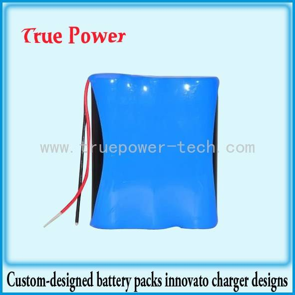 18650 Li-ion Battery Packs 3.7V 9600mAh