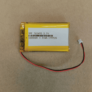One of Hottest for 48v 20ah Lithium Battery - Explosion proof li polymer battery TPP703455 3.7V 1300mah for Audio player – True Power