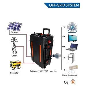 China Gold Supplier for Lithium Battery Electric Car - UPS battery 220V 12KWH – True Power