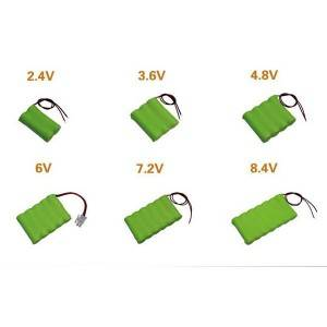 China Factory for Rechargeable Lithium - Ni-mh battery 3.6V 1800mah for toys – True Power