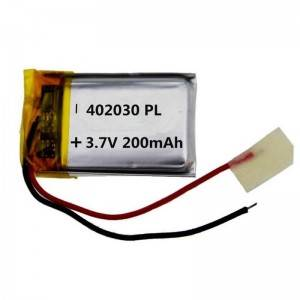 Online Exporter Cheap 12v Lithium Batteries - 3.7v li-polymer battery small 032030 402030 453030 502030 602030 130-280mah 3.7v lithium polymer battery for bluetooth, tracker, GPS – True Power