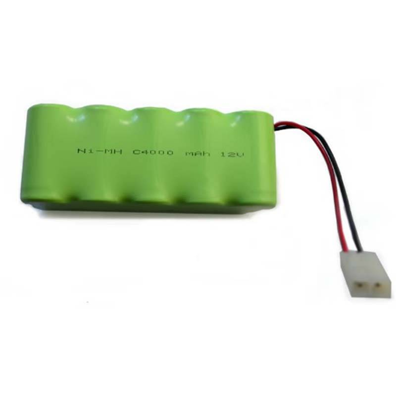 Factory wholesale 3v Lithium Battery Rechargeable - recharge lithium 12V nimh battery pack C4000 NIMH AA 12V 4000mah battery pack – True Power