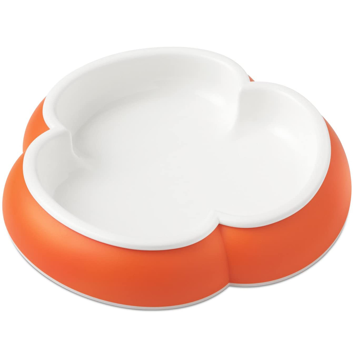 Hot Clover Shaped Plates, Made Of BPA Free Plastic