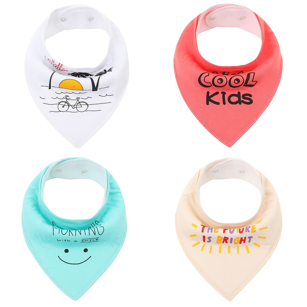 Drool Bibs For Drooling And Teething 2020New Design Embroidered Cotton Baby Bibs