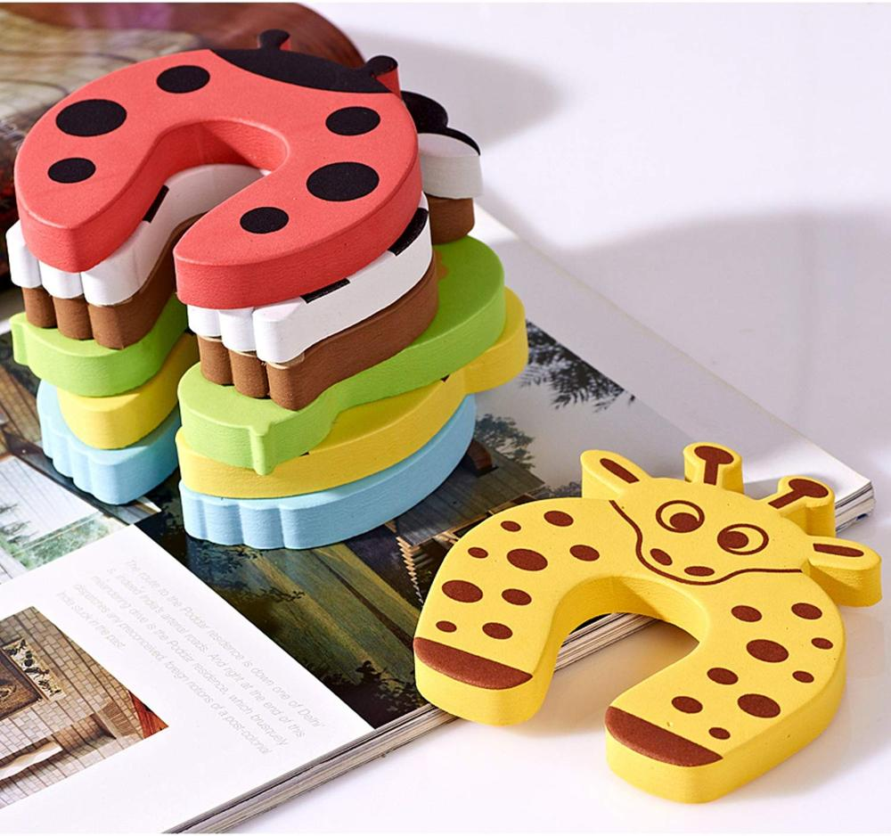 Wholesale Colorful Cartoon Animal Foam Door Stopper for Baby