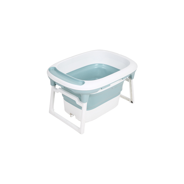 Collapsible Portable Shower Basin with Non Slip Mat High Quality Foldable Baby Bath Tub