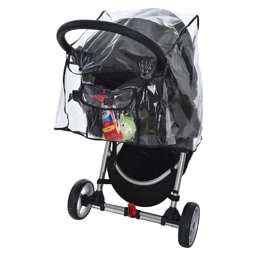High Quality Stroller Weather Shield, Clear, One Size