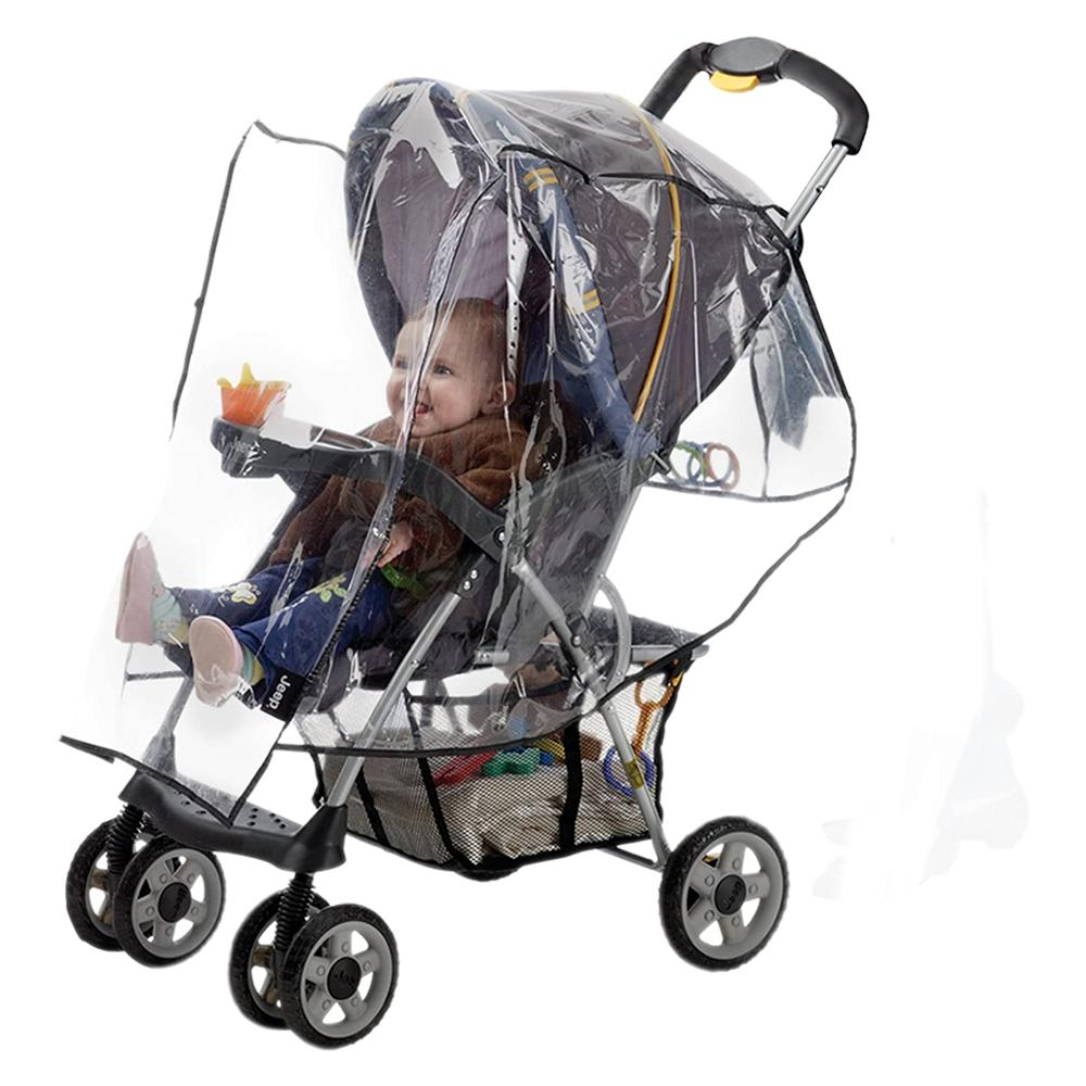 Hot Standard Stroller Rain Cover, Stroller Accessories, Stroller Weather Shield