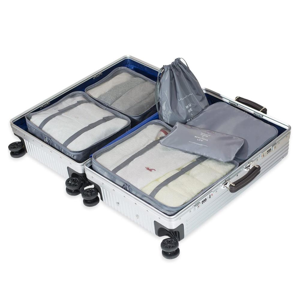 Best Price on Seat Gap Organizer - Hot Packing Cubes,Luggage Organizers for Travel (Dark Blue) – Transtek
