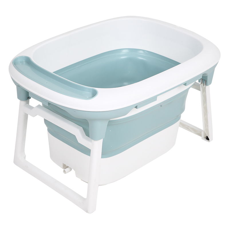 New Products Portable Bathing Tub With Non-Slip Mat Amazon Hot Selling Folding Foldable Bathtub For Baby