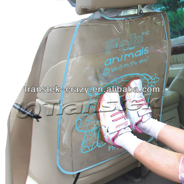 PVC car back seat protector