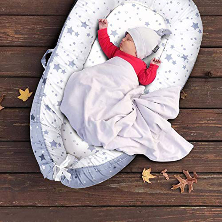 Newborn Bumper Baby Portable Nest Cotton Newborn Portable Bed