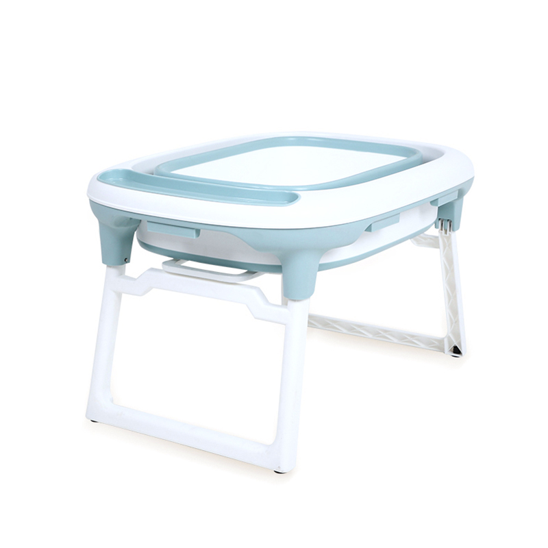 2020 wholesale price Baby Car Mirror With Light - New Style Portable Plastic Foldable Bathtub Plastic Big Foldable/Portable Baby Bathtub Folding Bath Tub – Transtek