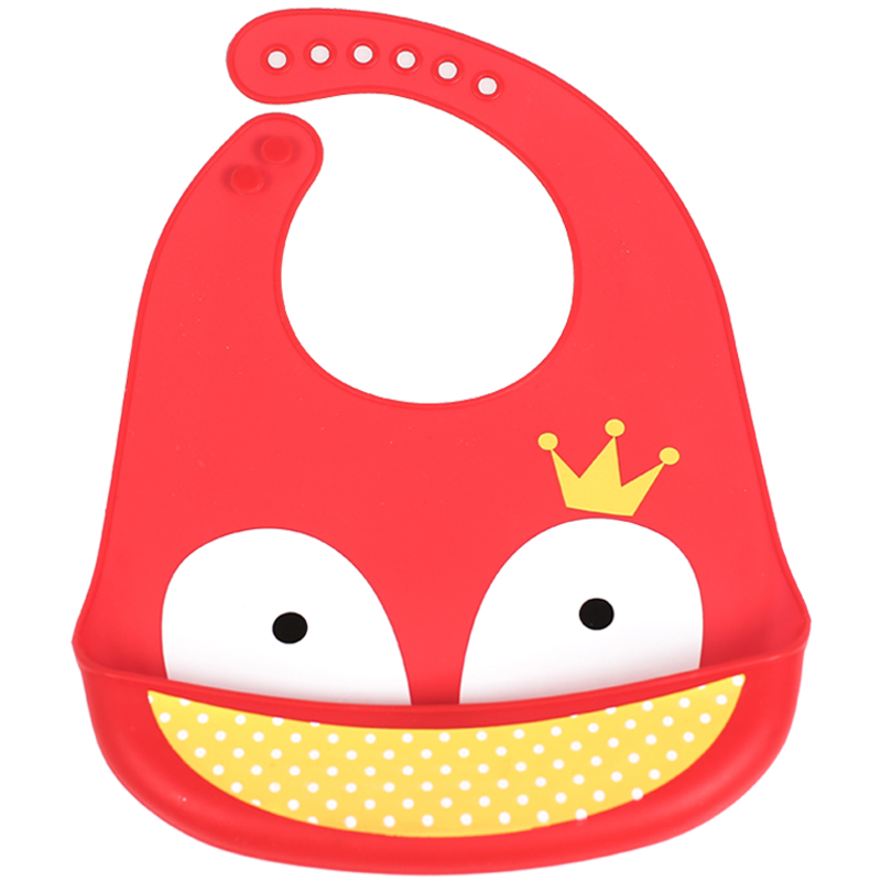 Baby Products Soft Feeding Silicone Baby Bandana Bibs Waterproof Silicone Drool Bib