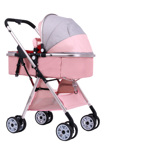 Foldable Baby Carriage/High Landscape Baby Stroller