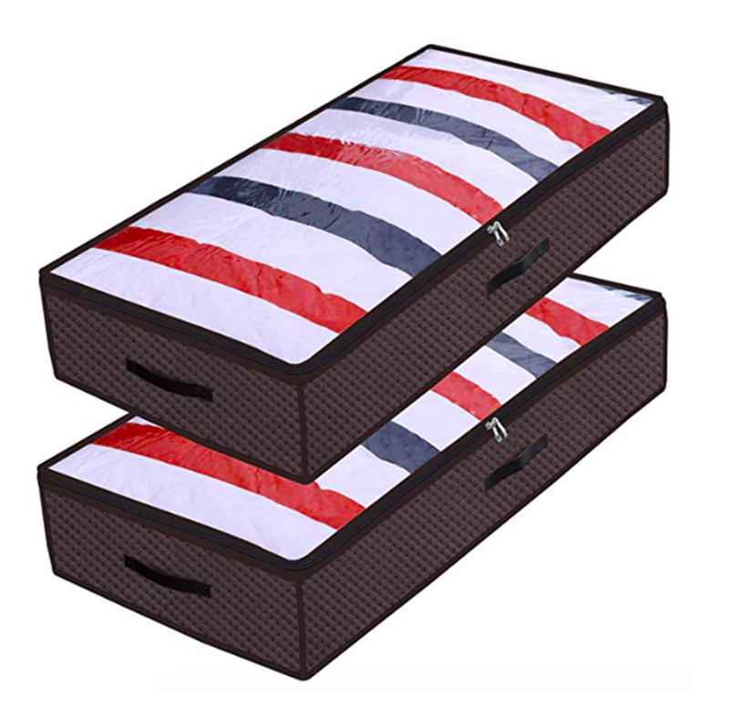Underbed storage bag of 2-pack