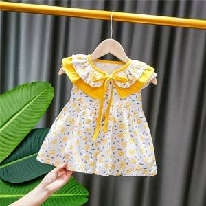 China New Product Matching Baby And Mum Swimwear - Little Girls  Sleeveless  Casual Birthday Dress with Tutu Skirt Plus Size Kids Wear – Tspringwater