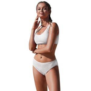 Two Piece Bathing Suit Bikini Swimsuit Sports Swimwear