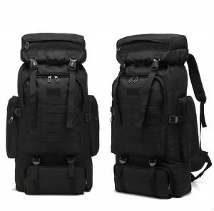 Multifunctional backpack canvas bag outdoor hiking backpack