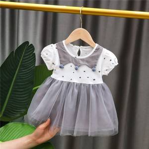Special Price for Expensive Kids Clothes - Girls' dress, summer princess dress, western style girl's fluffy dress – Tspringwater
