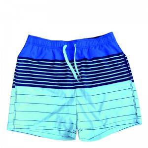 8 Year Exporter Mens Long Swim Shorts - Mens Striped Swim Trunks  – Tspringwater