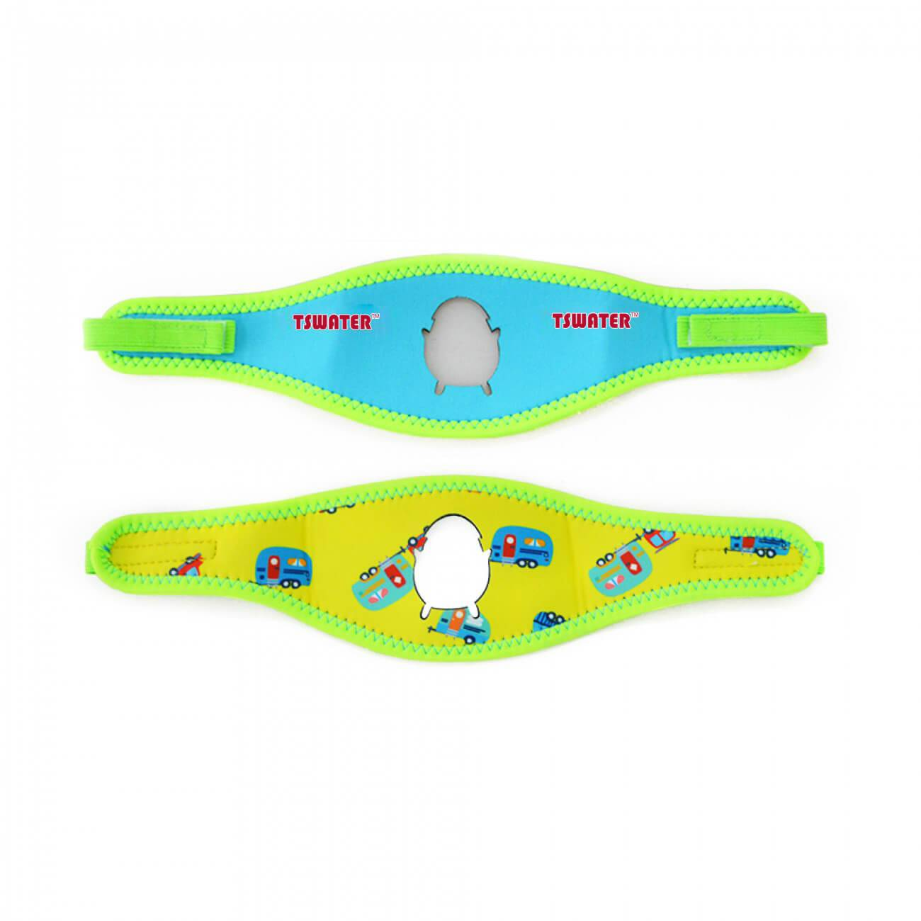 Cartoon pattern children swimming goggles adustable strap  neoprene material Featured Image