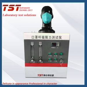 Masks Breathing resistance tester