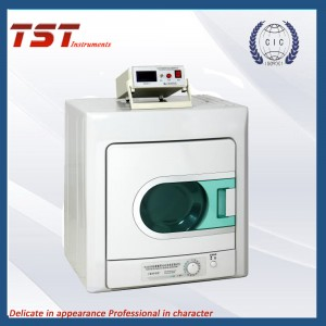Textile electric charge density tester