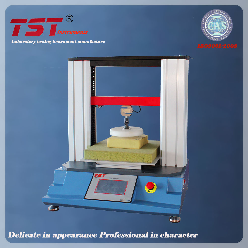 ASTM D3574 Polymeric material Foam hardness test by indentation technique -IFD testing machine
