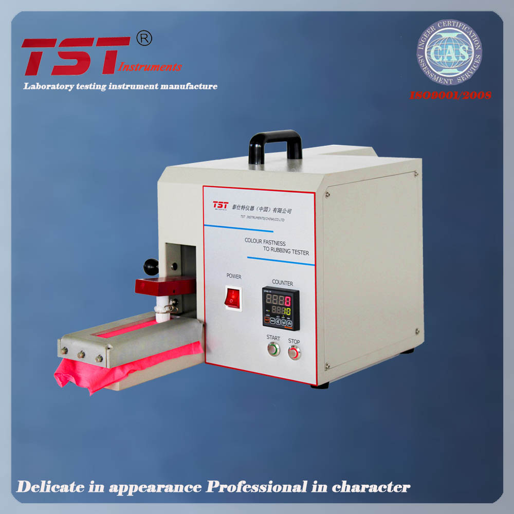 Ultra-Silence AATCCElectronic crockmeter-Rubbing Fastness Testing Machine