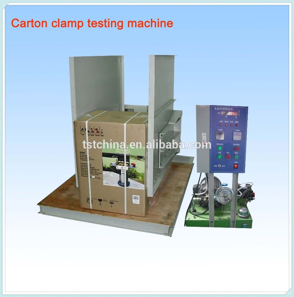 Carton Stacking Test Machine, Carton Compression Tester, Food Box Compression Test