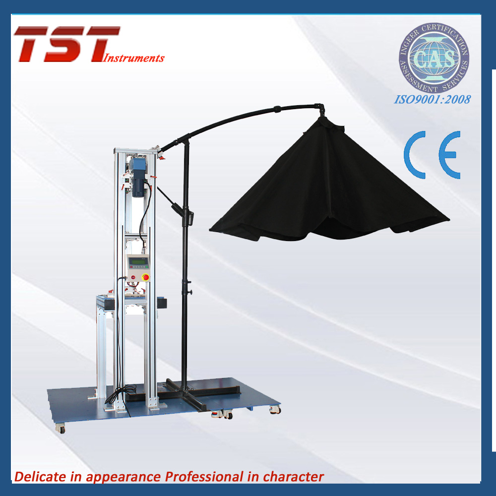 Non-standard new design of umbrella cloth opening and closing durability tester