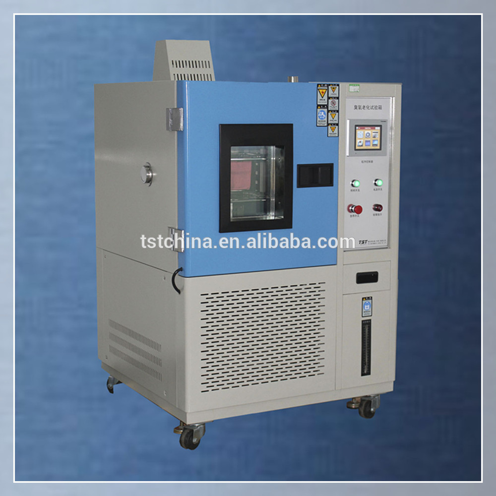 Ozone aging test chamber in constant temperature and ozone environment test