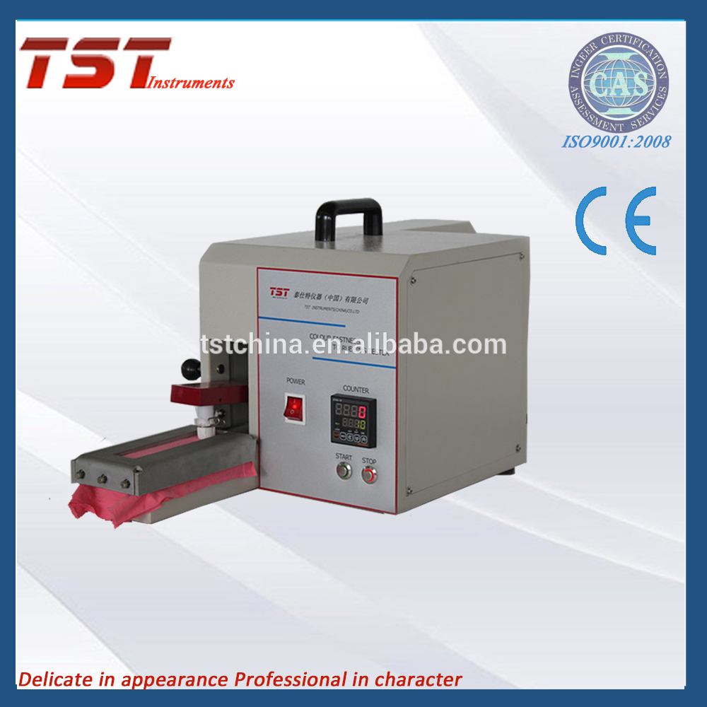 2019 China New Design Iultcs Rubbing Fastness Test - Electronic Rubbing Fastness to colour Testing Machine(Crockmeter) – TST