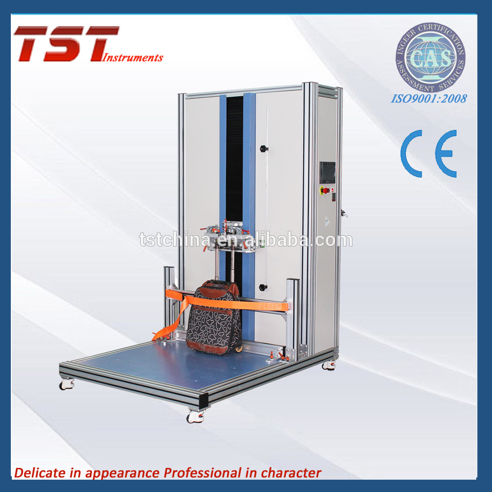 Case and Bags pull rod resistance to fatigue durability tester