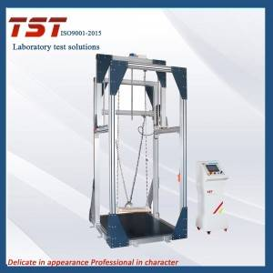 Amusement devices swing seat impact resistance test