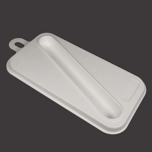 High reputation White Food Packaging Pulp Boxes - Electronic Tooth Brush Tray – Dingtian