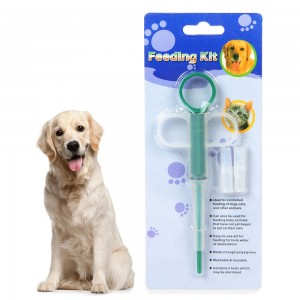 Comfortable Pet Medicine Feeding Device Feeding Medicine Stick Universal for Dogs and Cats Can Be Fed Calcium Tablets Repellent Pet Supplies