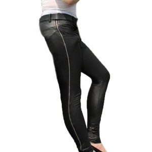 Personalized Side Zipper Casual Feet Can Be Tailored Tights