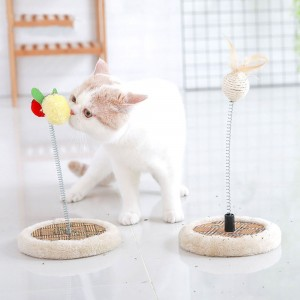 Pet Cat Simple Disc Cool and Funny Cat Table Pet Cat Kitten Cat Adult Cat Summer Cool Small Cat Table Cat Toy