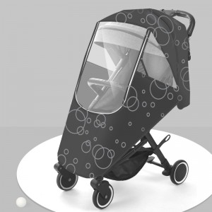 Baby Carriage Rain Cover Children's Car Wind Shield Baby Cart Umbrella Car Anti haze Cart Protective Cover Raincoat Universal