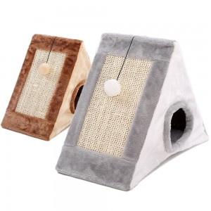 Cat Climbing Frame Cat Scratching Board Cat Grinding Claws Sisal Cat Scratching Board Cat Litter Cat Supplies