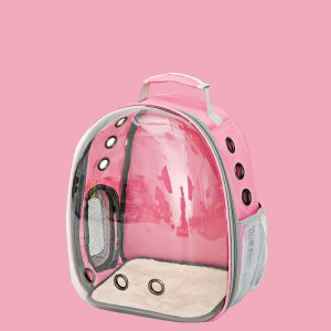 Cheap PriceList for Cat And Dog Physiological Pants/Anti-Harassment Pants - Transparent Cat Bag Pet Messenger Bag Space Capsule Backpack Cat Box Cage Cat Carry Bag – MiaSein