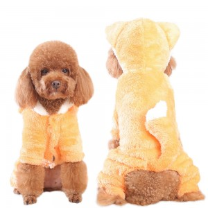Low price for Big Dog Ski Suit - Dog clothes Teddy Pomeranian plush cartoon transformation four-legged clothes Pomeranian puppy autumn and winter clothes pet warm clothes T – MiaSein