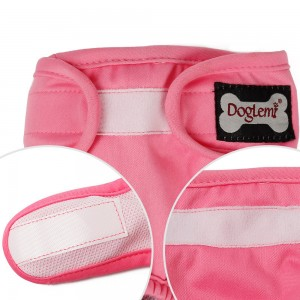 Lowest Price for Dog Christmas Apparel -  Female Dog Physiological Pants Teddy Golden Wool Menstrual Safety Pants Dog Health Diaper Pet Anti Harassment Estrus Underwear – MiaSein