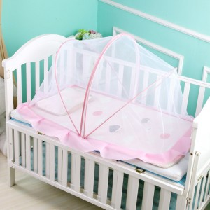 Factory Price Easy Crochet Baby Blanket -  Baby Mosquito Net Foldable Baby Bed Net Newborn Baby Bed Mosquito Net Mosquito Proof Cover Yurt Portable – MiaSein