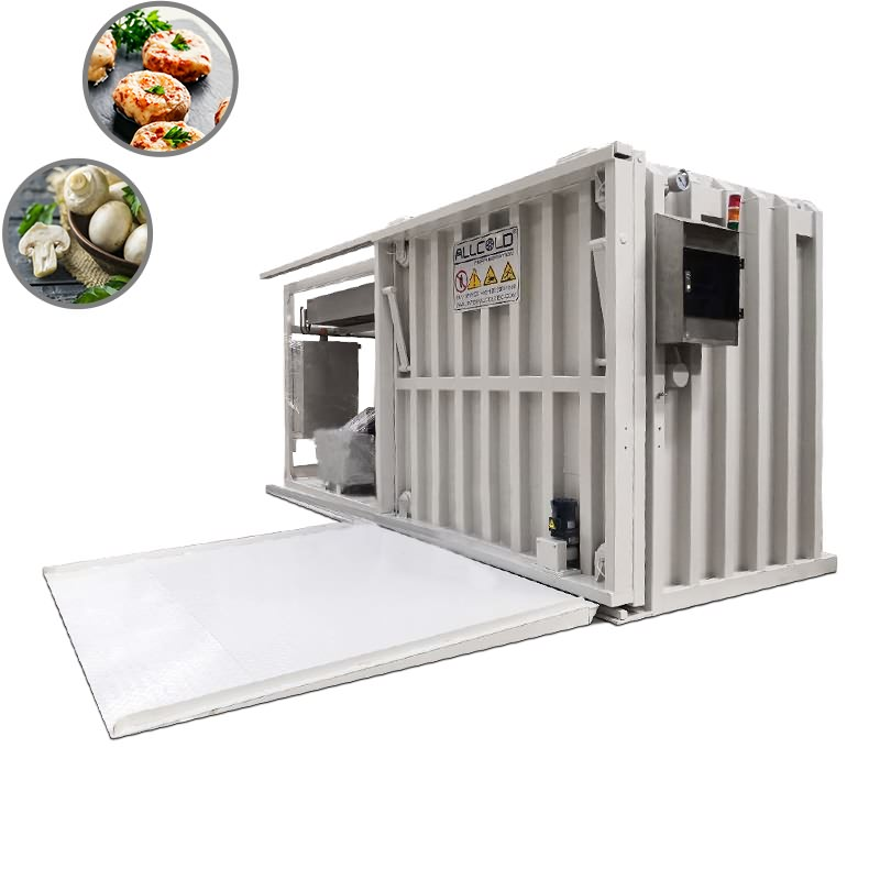 Best Price for Cooked Food Vacuum Cooling Machine - Mushrooms Vacuum Cooler – ALLCOLD Featured Image