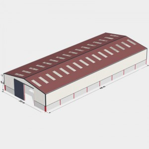 Manufacturing Companies for Commercial Steel Building - Fast Assembled Prefab Building Construction Steel Structural Warehouse – Vanhe