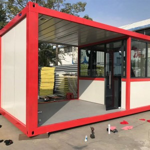 Factory selling House Modules - 40Ft Luxury 2Bedroom Container Homes Prefab Flat Pack Container Houses – Vanhe