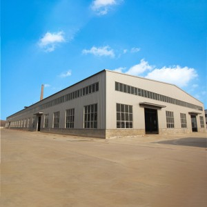 OEM Manufacturer Metal Frame Buildings - Gable frame light metal building prefabricated industrial steel structure warehouse – Vanhe